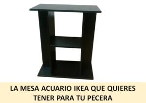 Venta Estanteria Ikea.La Mesa Acuario Ikea Que Quieres Tener En Tu Pecera Laspeceras Com